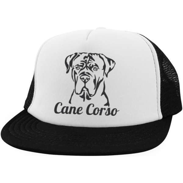 Cane Corso District Trucker Hat with Snapback