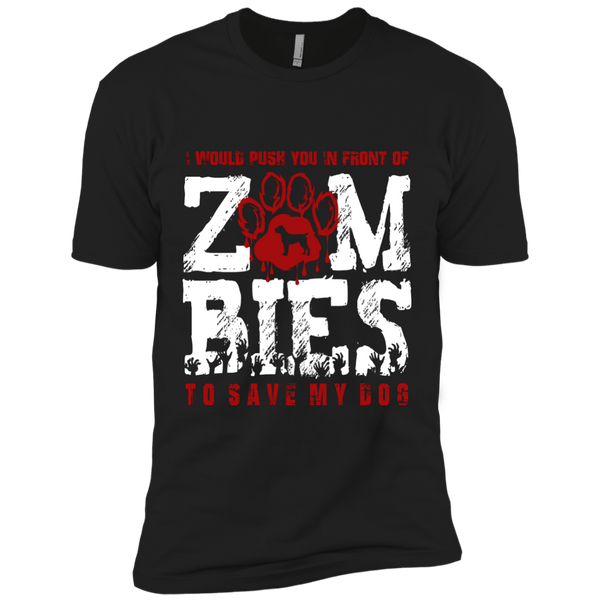 Cane Corso Zombies Next Level Premium Short Sleeve Tee