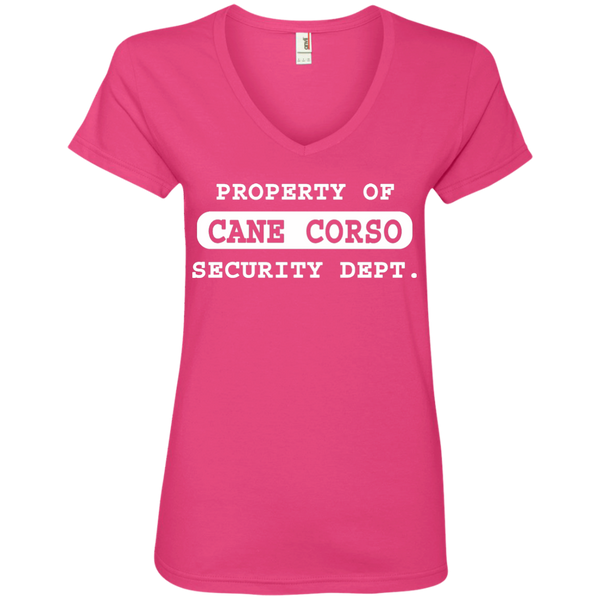 Property of CC Ladies' V-Neck T-Shirt
