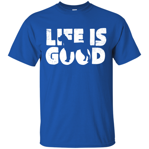 Cane Corso Life Is Good Cotton T-Shirt