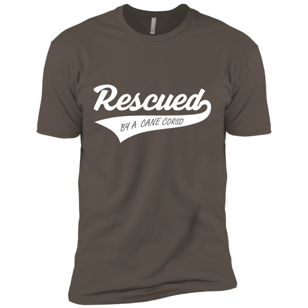 Rescued By A Cane Corso Next Level Premium Short Sleeve Tee