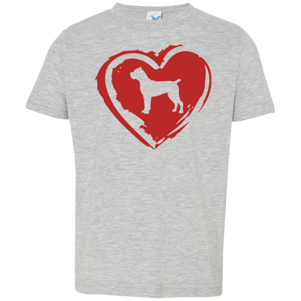 Cane Corso Heart Boys Toddler Tee