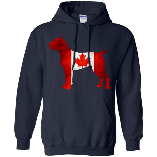 Cane Corso Canada Pullover Hoodie