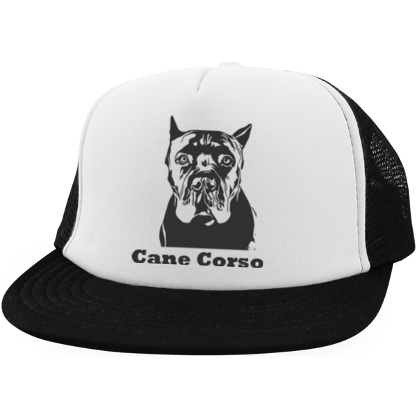 Cane Corso Crop District Trucker Hat with Snapback