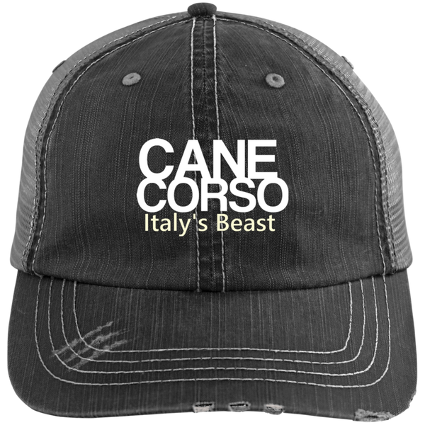 Italy's Beast Distressed Unstructured Trucker Cap
