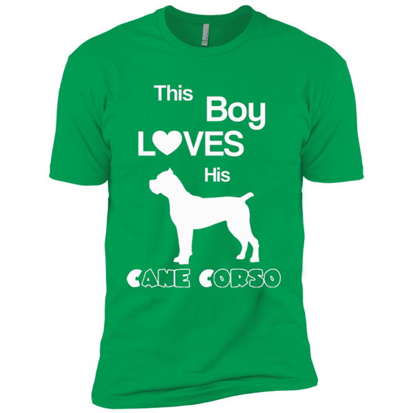 This Boy Loves His Cane Corso Youth Boys