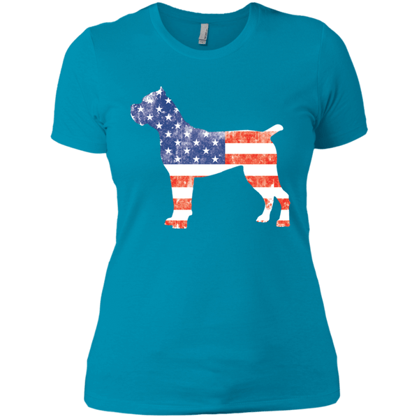 Cane Corso Of America Next Level Ladies' Boyfriend Tee