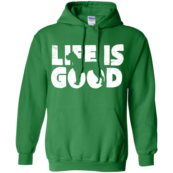 Cane Corso Life is Good Pullover Hoodie
