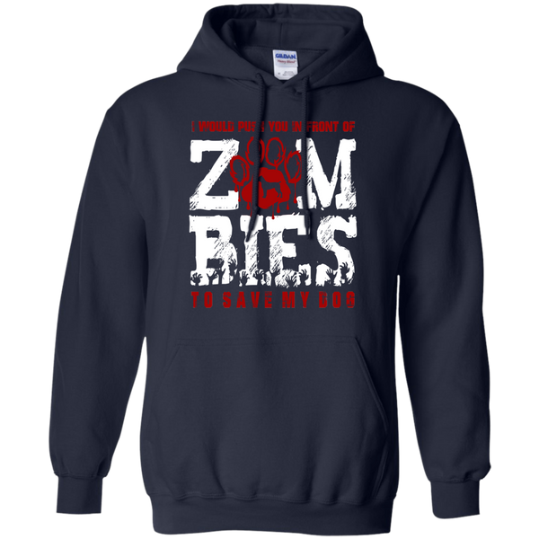 Cane Corso Zombies Pullover Hoodie
