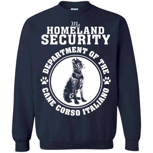Homeland Security Crewneck Pullover Sweatshirt