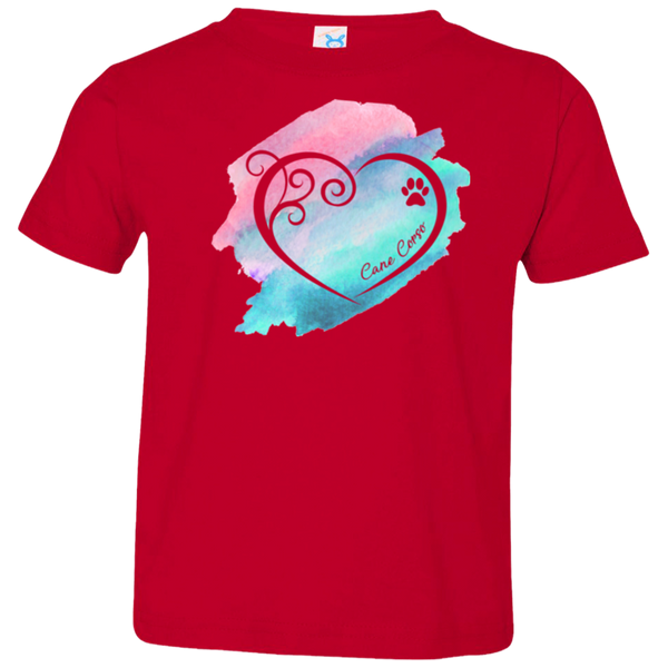 Cane Corso Heart Girls Toddler Tee