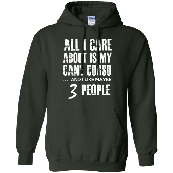 3 People Cane Corso Hoodie