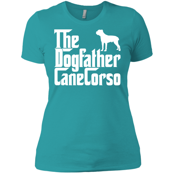 The DogFather Next Level Ladies Tee