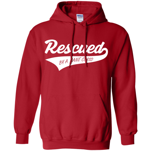 Rescued By A Cane Corso Pullover Hoodie