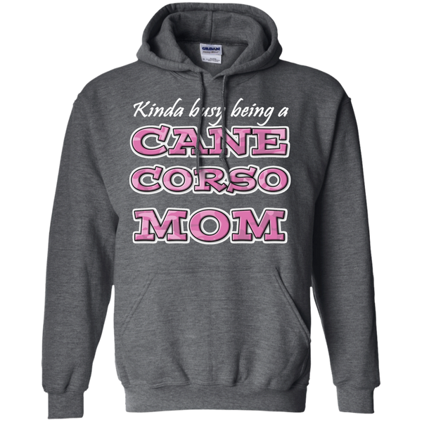 Busy Cane Corso Mom Pullover Hoodie