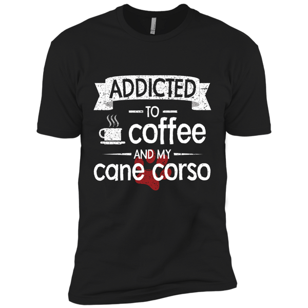 Addicted To Coffee Premium Short Sleeve Tee