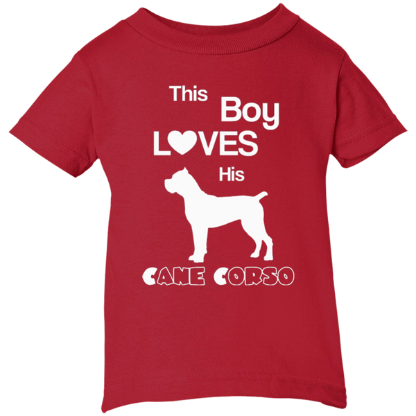 This Boy Loves HIs Cane Corso Infant Boys