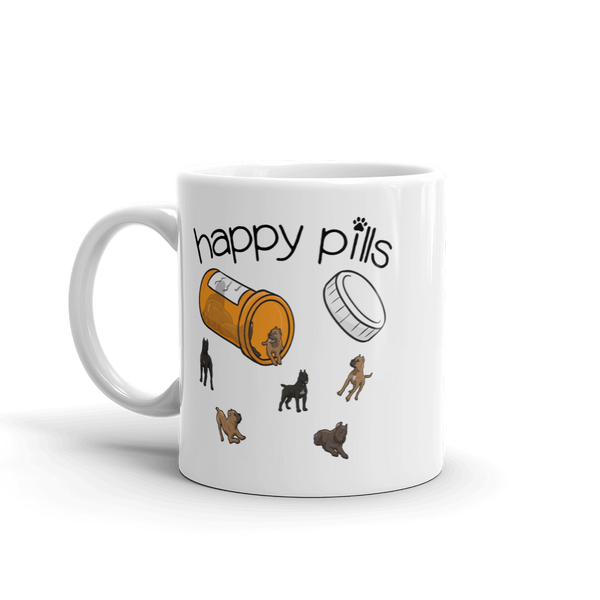 Happy Pills 11 oz. Mug