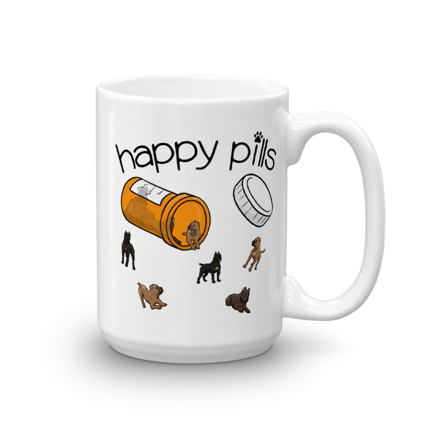Happy Pills Mug - 15oz