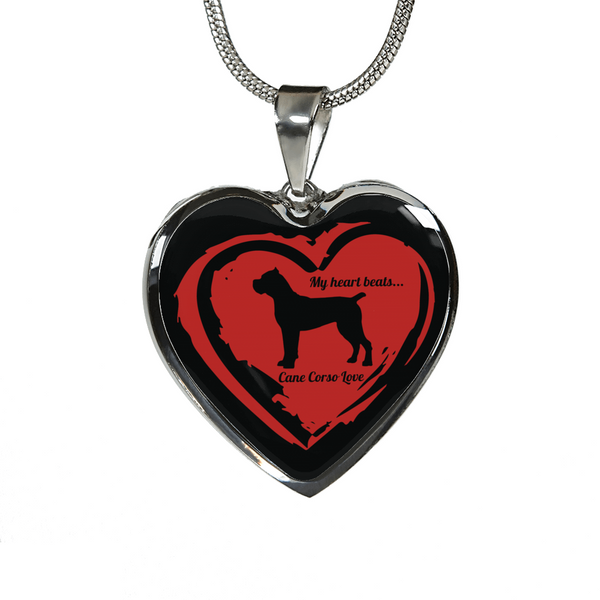 Cane Corso Love Necklace or Bracelet