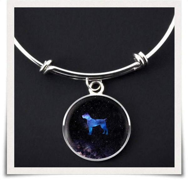 Galaxy Cane Corso Bangle Bracelet
