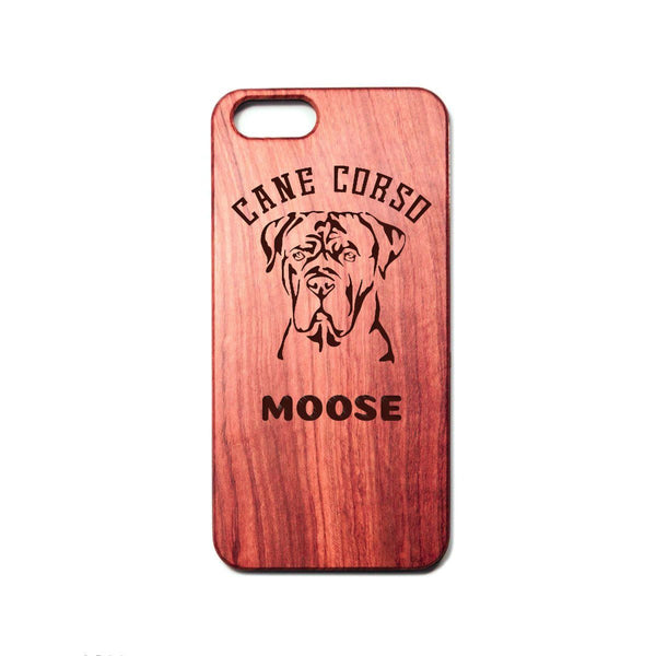 Personalized Cane Corso Uncropped iPhone Case