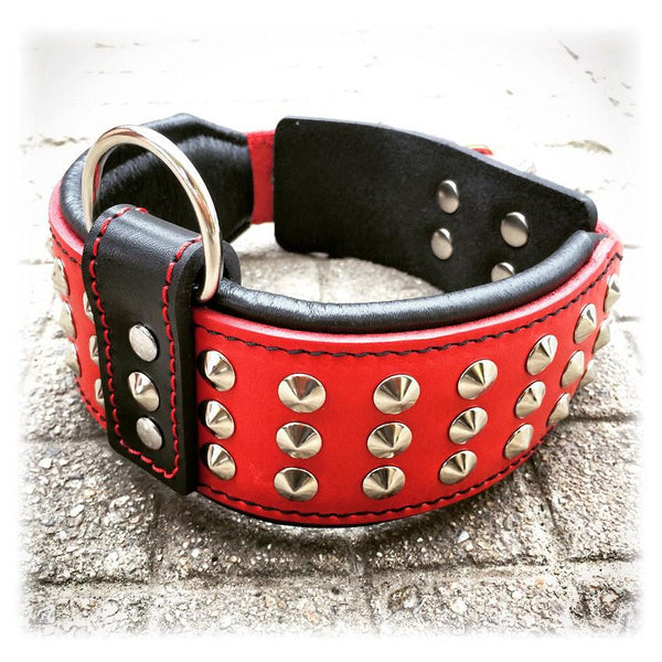 Bestia studded dog collar