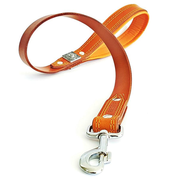 Bestia genuine leather dog leash