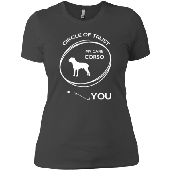Short Sleeve - Ladies Cane Corso Circle Of Trust T-Shirt