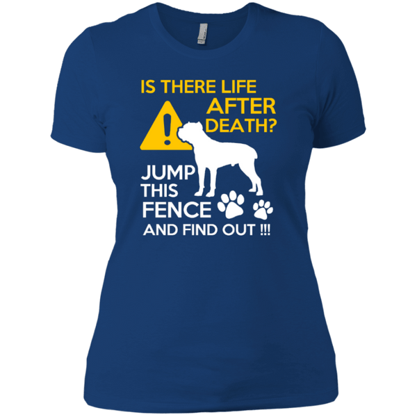 Short Sleeve - Ladies Cane Corso Life After Death T-Shirt