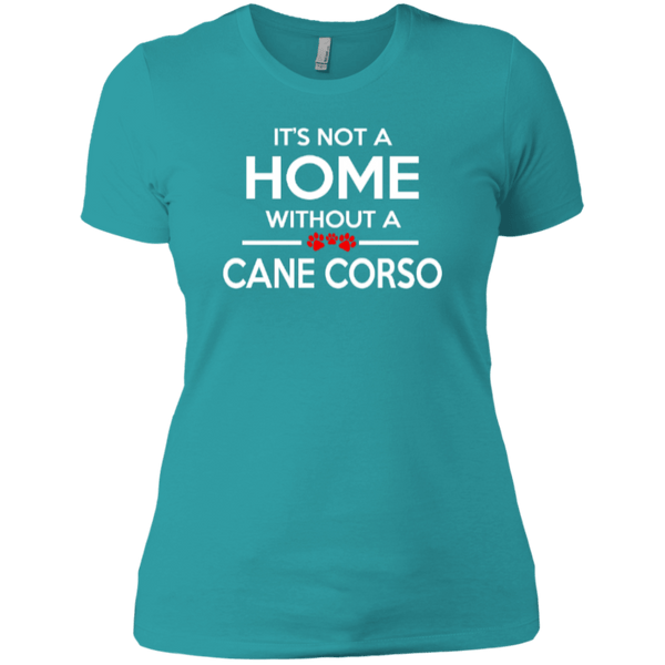 Short Sleeve - Ladies Its Not Home Cane Corso T-Shirt