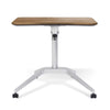 Image of Unique Furniture 201 Workpad Height Adjustable Laptop Cart Mobile Desk