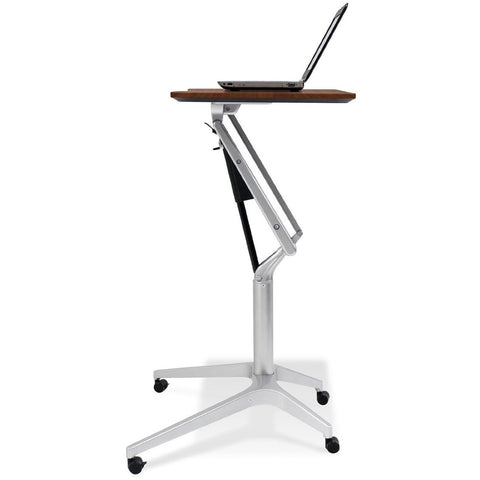Jesper Office 201-BLK Workpad Height Adjustable Laptop Cart Mobile Desk