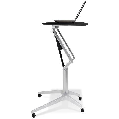 Jesper Office 201 Workpad Height Adjustable Laptop Cart Mobile Desk - Standing Desk Supply