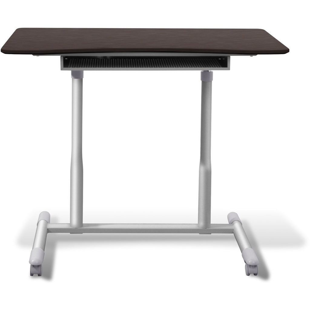 Jesper office manual height adjustable sit to stand desk for Standing office desk furniture