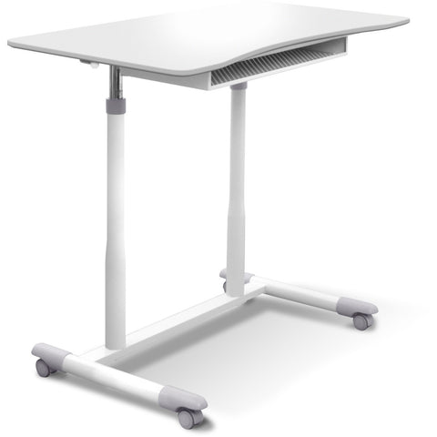Jesper Office Manual Height Adjustable Sit to Stand Desk 205-WH