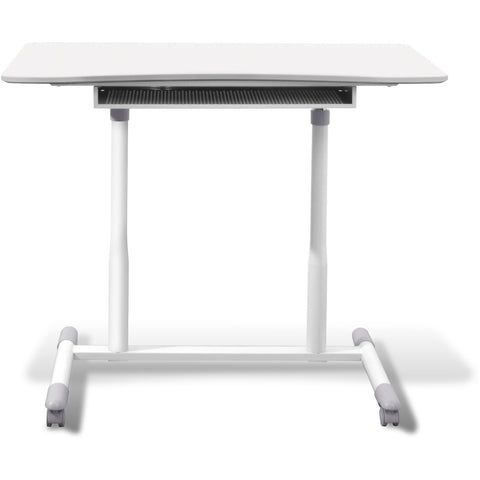 Jesper Office Manual Height Adjustable Sit to Stand Desk 205-WH - Standing Desk Supply