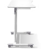 Image of Jesper Office Manual Height Adjustable Sit to Stand Desk 205-WH - Standing Desk Supply