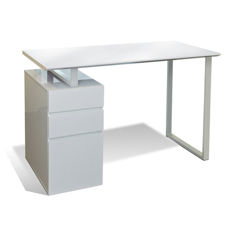 Unique Furniture 220 Series Writing Desk with Drawers