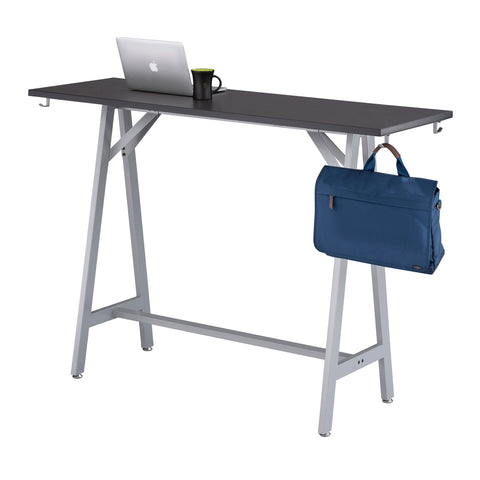 "Spark™ Standing-Height Teaming Table, 60"" W, 24"