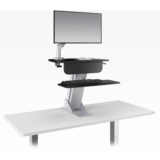 ESI Ergonomic Ergorise LIFT Stand Up Desk Converter Standing