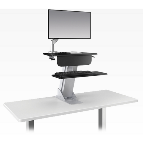 ESI Ergonomic Solutions Ergorise LIFT Adjustable Stand Up Desk Converter - Standing Desk Supply