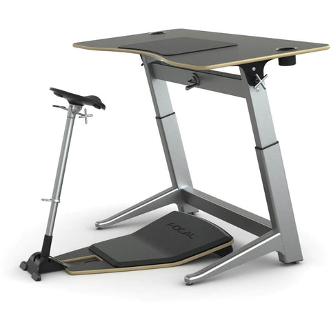 Focal Upright Locus Desk Bundle - Complete Standing Workstation - Standing Desk Supply