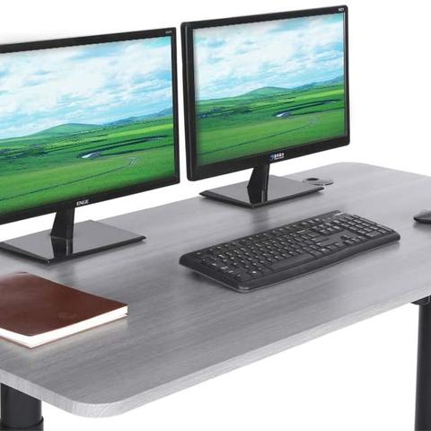 "ApexDesk Vortex M Series 55"" Wide Electric Height Adjustable Stand Up Computer Desk"