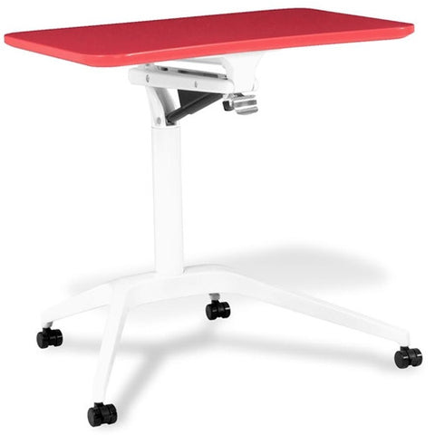 Unique Furniture 201 Workpad Height Adjustable Laptop Cart Mobile Desk