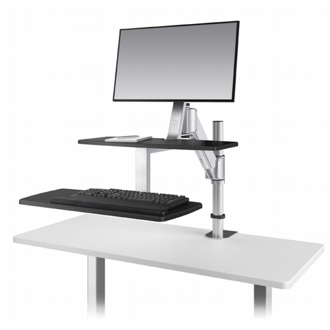 ESI Erognomic Solutions CLIMB1 Adjustable Stand Up Desk Converter - Standing Desk Supply