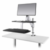 Image of ESI Erognomic Solutions CLIMB1 Adjustable Stand Up Desk Converter - Standing Desk Supply