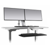 Image of ESI Erognomic Solutions CLIMB2 Adjustable Stand Up Desk Converter - Standing Desk Supply