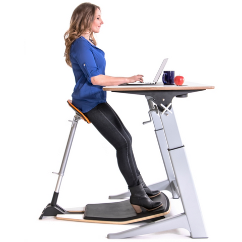 Focal Upright Locus Desk Bundle - Complete Standing Workstation