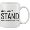 "Image of Exclusive FREE ""Sip and Stand"" Mug!"